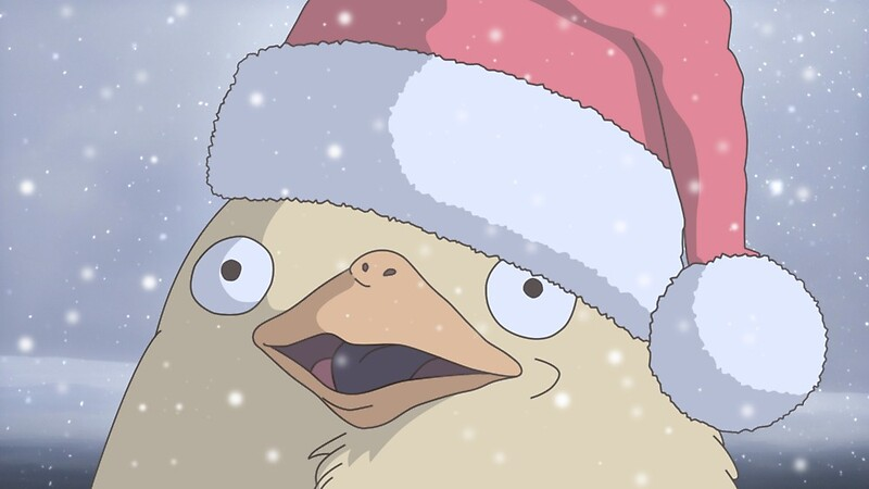 """Ducks spirited away christmas"" by pantsura | Redbubble"