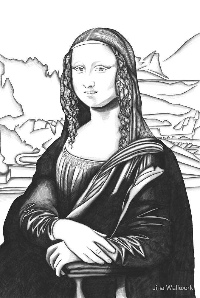 Mona Lisa by Jina Wallwork