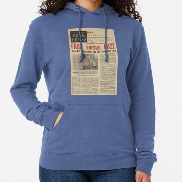 los angeles free press lightweight hoodies Lightweight Hoodie