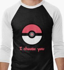 """""""I Choose You"""" Romantic Pokemon Design T-Shirt"""