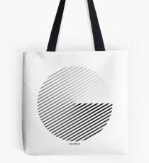 Stripes can be in a disc (BoW) Tote Bag