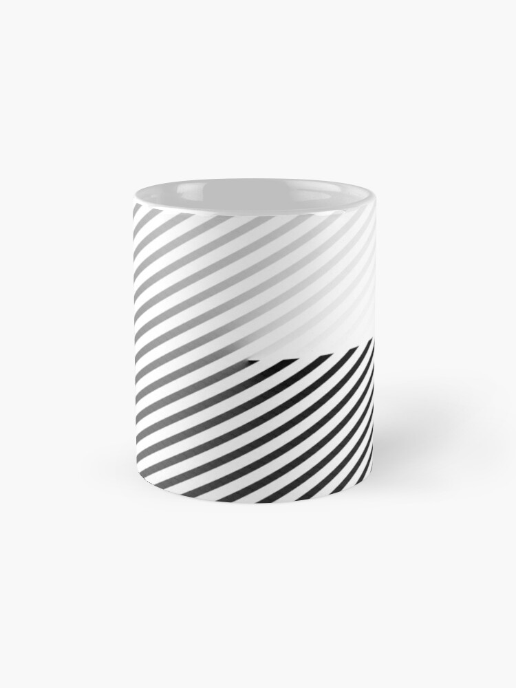 Alternate view of Stripes can be in a disc (BoW) Mug