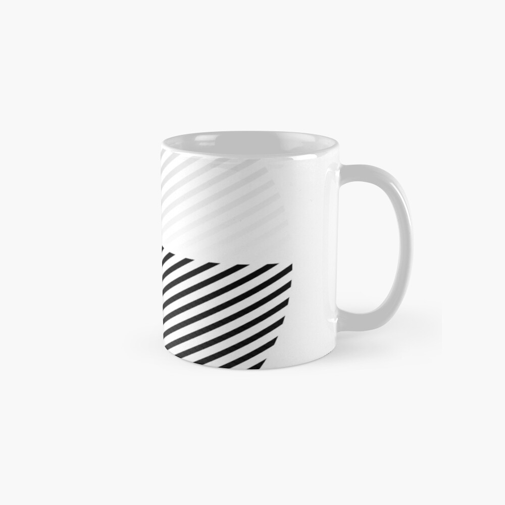 Stripes can be in a disc (BoW) Mug