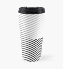 Stripes can be in a disc (BoW) Travel Mug