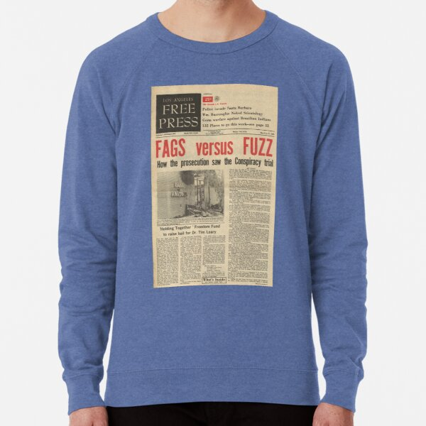 los angeles free press sweatshirts Lightweight Sweatshirt