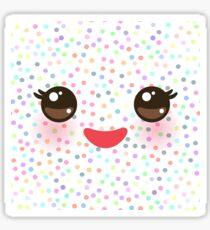 Kawaii face Sticker