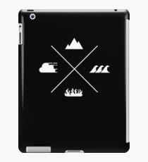 Minimal Four Elements iPad Case/Skin