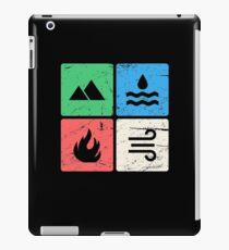 Vintage Four Elements Icons iPad Case/Skin