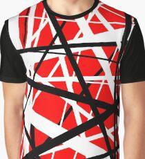 Frankenstein Pattern (Red) Graphic T-Shirt