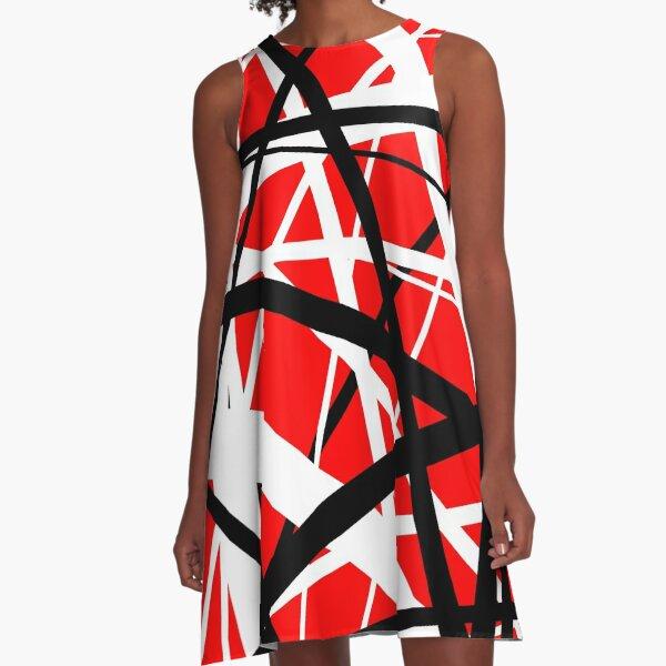 Frankenstein Pattern (Red) A-Line Dress