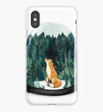 SnowGlobe Fox iPhone Case/Skin