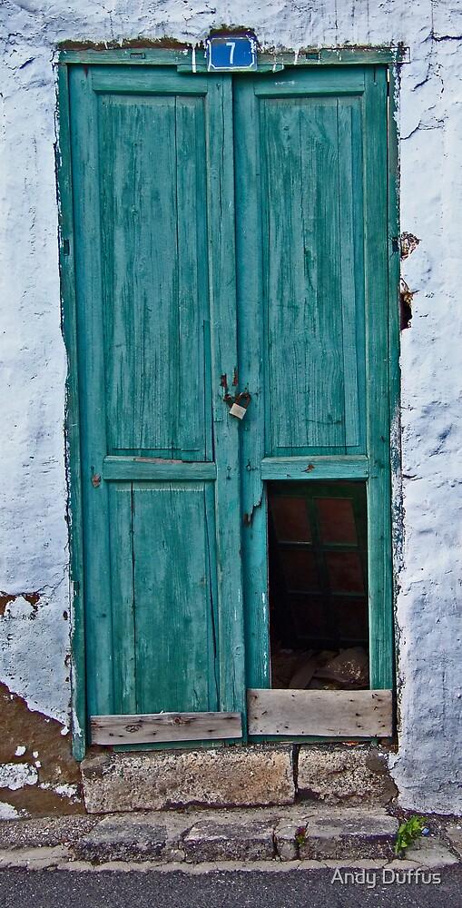 Door - Haria by Andy Duffus