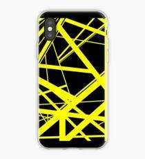 Frankenstein Pattern (Yellow) iPhone Case