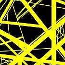 Frankenstein-Muster (Gelb) von Anthony Segrist