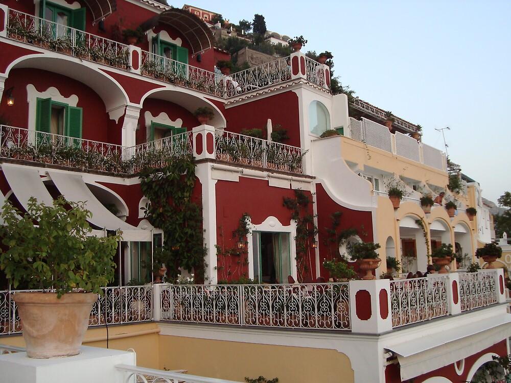 Le Sirenuse Hotel, Positano by Debjani
