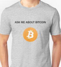 Ask Me About Bitcoin T-Shirt