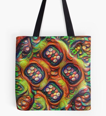 Still life with fruits #DeepDream Tote Bag