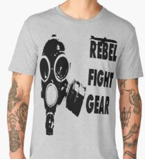 gas mask t-shirt Men's Premium T-Shirt