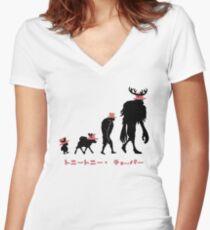 Chopper Evolution Women's Fitted V-Neck T-Shirt