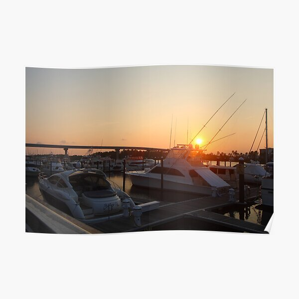 The Warf, Gulfshores Poster