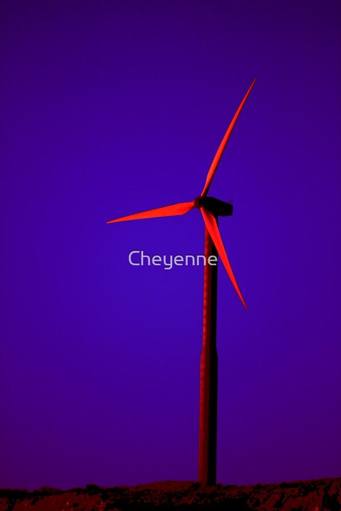 Windmill by Cheyenne
