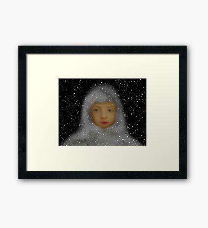 Dreaming of Snow Framed Print