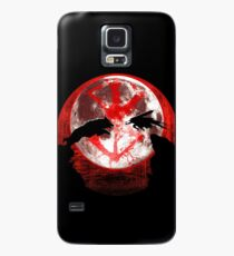Blood moon guts and wolf Case/Skin for Samsung Galaxy