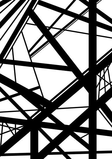 dada7a4c30d Frankenstein Pattern (Black   White)