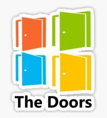 The Doors (Windows Logo) Sticker