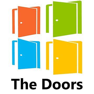 The Doors (Windows Logo) by Delta12Designs
