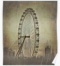 London Eye 1840 (fake gnus) Poster