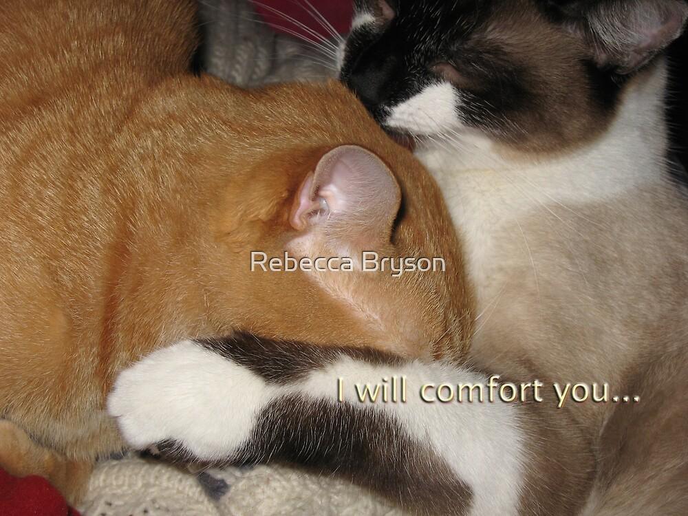 I Will Comfort You... by Rebecca Bryson