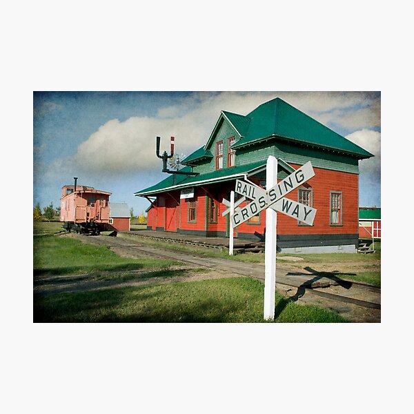Pollockville Station Photographic Print