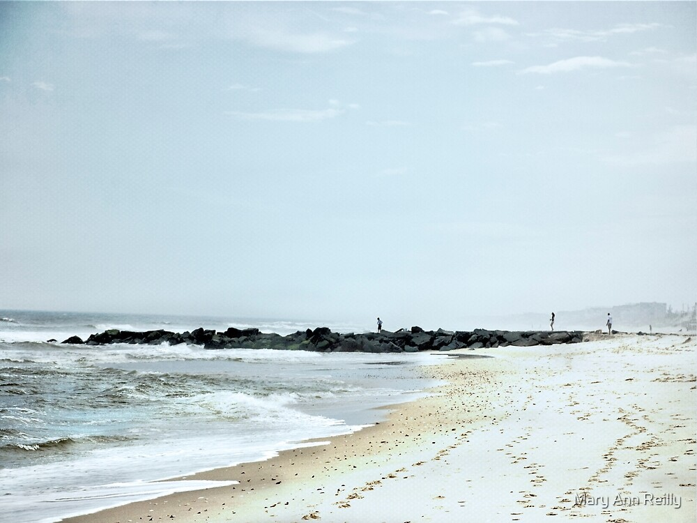Three at the Beach by Mary Ann Reilly