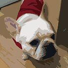 French Bulldog is cute! by Jean Rim