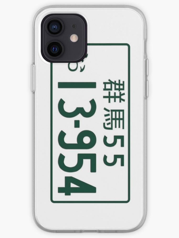 Initial D Matricula   Coque iPhone