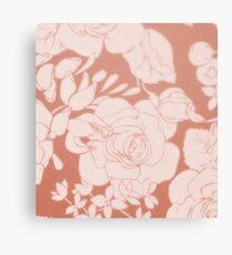 floral-4 Canvas Print