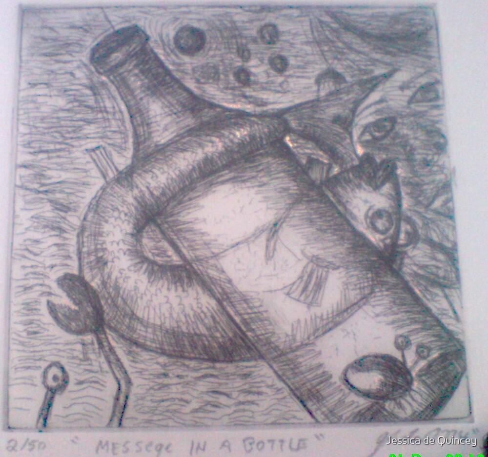 bubble fish by Jessica de Quincey by Jessica de Quincey