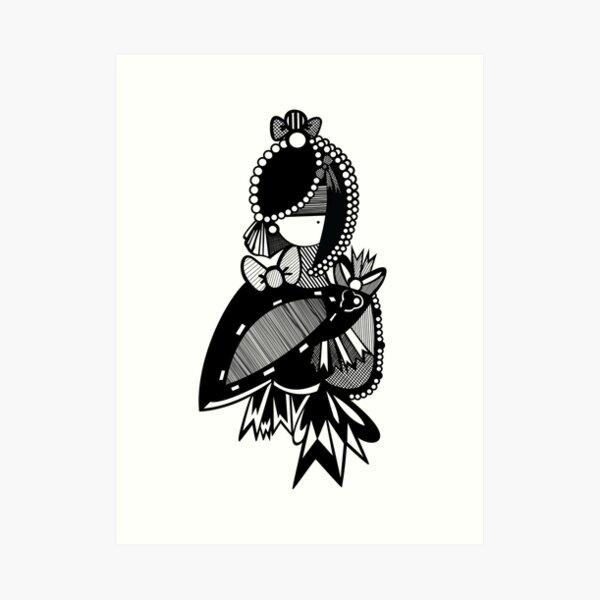 Victorique Art Print