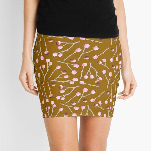 Toasted Marshmallows - Caramel Mini Skirt