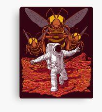 Killer Bees On Mars. Canvas Print
