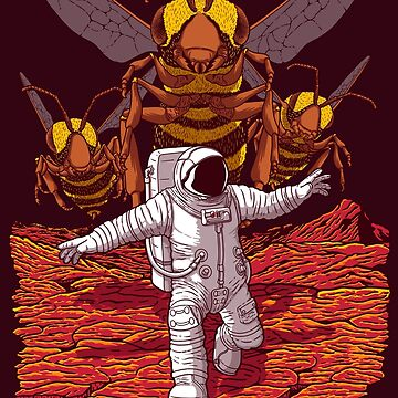 Killer Bees On Mars. by jcmaziu