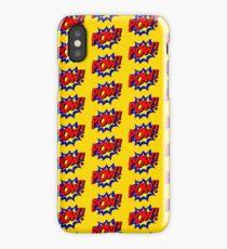 Superhero POW! iPhone Case/Skin