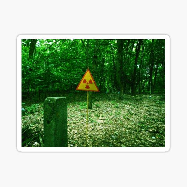 Contamination in Chernobyl Sticker