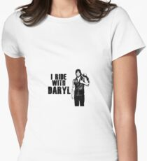 I rIde with Daryl - Daryl Dixon The Walking Dead T-Shirt