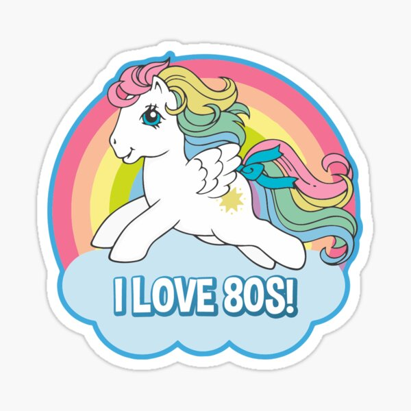 MY LITTLE PONY - 80s Sticker