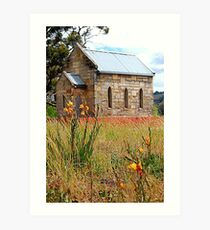 Lilliputian Church Piccadilly Valley Adelaide.  Art Print