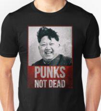 Kim Jong Un - Punks nicht tot - lustig Slim Fit T-Shirt