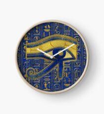 Goldägyptisches Auge von Horus - Wadjet Lapis Lazuli Uhr