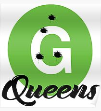 New York Raised Me / New York / G Train Queens Bullets Poster